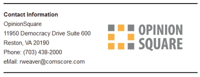 OpinionSquare Company Detail Screenshot