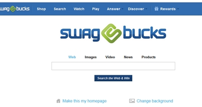 Swagbucks Search Engine Screenshot