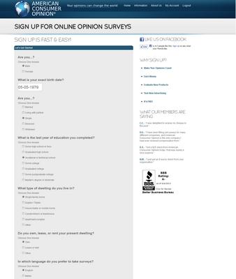 American-Consumer-Opinion-Profile-Survey