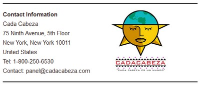 Cada Cabeza Address
