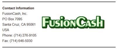 FC Corporate Info Screenshot