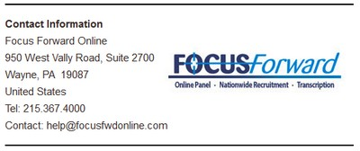 Screenshot of Focus Forward LLC's Contact Information