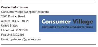 Gongos Research Info Screenshot