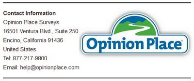 Address OpinionPlace Surveys