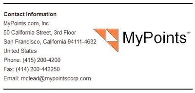 Contact Details Mypoints