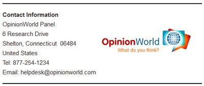 Contact Details OpinionWorld