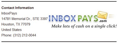 InboxPays Phone Number