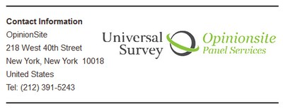 Universal Survey Info Screenshot
