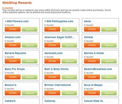 Webshop Screenshot