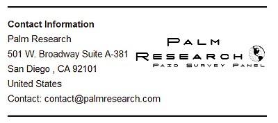 Contact Details Palm