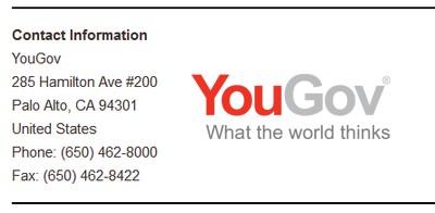 Yougov Headquarters Address