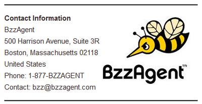 BzzAgent Address