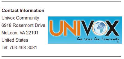 Univox Corporate Info