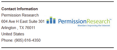 Permission-Research-Contact-Info