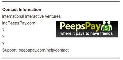 PeepsPay Info