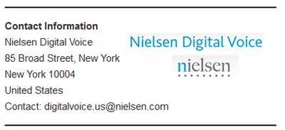 Nielsen digital voice contact info