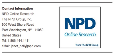 NPD Groups' Contact Info Screenshot